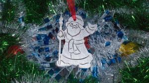 "Ёлочная игрушка ""Дед мороз"""